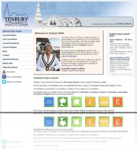 Tenbury Town Council - When Tenbury Town Council asked me to redesign their website the first thing I needed to do was to understand how the council worked and what they were responsible for in the town. I wanted the site to be easy to navigate for both
