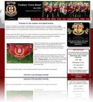 Tenbury Town Band had had a web presence for a number of years but needed a more up to date version that would give them the flexibility to update it on a regular basis and that would allow them to showcase their charity