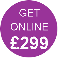Get Online for £299 Activ Web Design Worcester