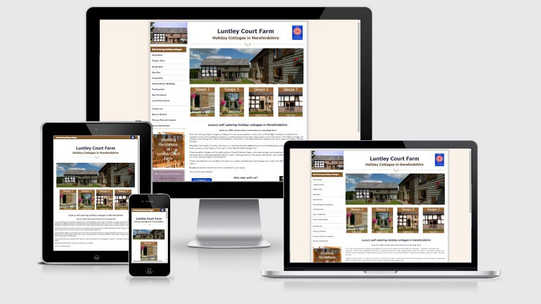 Luntley Coury Farm Responsive