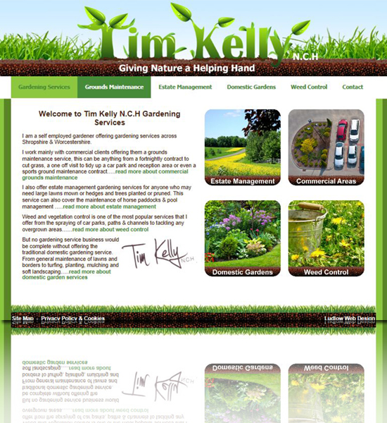Tim Kelly Gardening Services in Ludlow