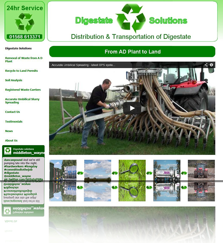 Digestate Solutions, Leominster, Herefordshire