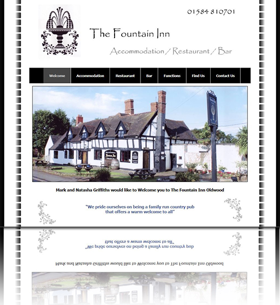 The Fountain Inn St Michaels Tenbury Wells