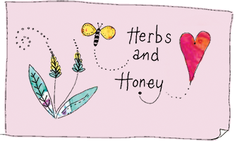 Herbs & Honey Cards Logo